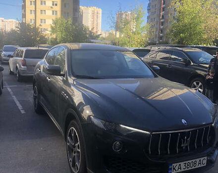 Черный Мазерати Леванте, объемом двигателя 3 л и пробегом 20 тыс. км за 70000 $, фото 1 на Automoto.ua