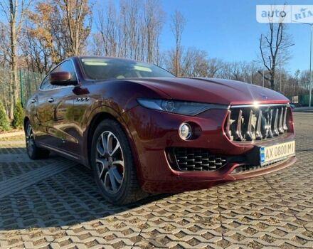 Красный Мазерати Леванте, объемом двигателя 0 л и пробегом 53 тыс. км за 62000 $, фото 1 на Automoto.ua