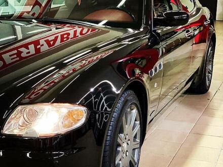 Чорний Мазераті Quattroporte, об'ємом двигуна 4.2 л та пробігом 76 тис. км за 20500 $, фото 1 на Automoto.ua