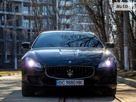 Чорний Мазераті Quattroporte, об'ємом двигуна 3 л та пробігом 52 тис. км за 41500 $, фото 1 на Automoto.ua