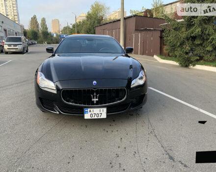 Черный Мазерати Кватропорте, объемом двигателя 3 л и пробегом 42 тыс. км за 38000 $, фото 1 на Automoto.ua