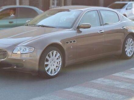 Коричневый Мазерати Кватропорте, объемом двигателя 4.2 л и пробегом 112 тыс. км за 14500 $, фото 1 на Automoto.ua