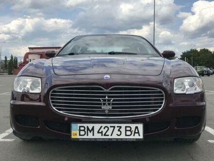 Красный Мазерати Кватропорте, объемом двигателя 4.3 л и пробегом 48 тыс. км за 18500 $, фото 1 на Automoto.ua