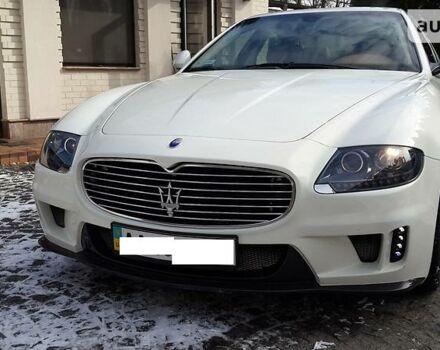 Білий Мазераті Quattroporte, об'ємом двигуна 4.7 л та пробігом 54 тис. км за 45000 $, фото 1 на Automoto.ua