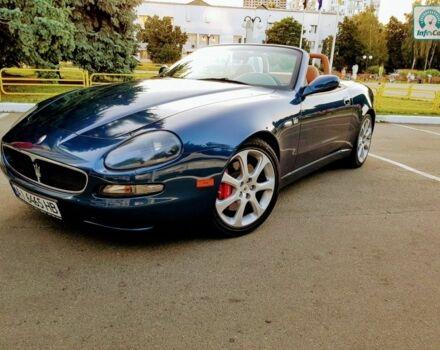 Синий Мазерати Спайдер, объемом двигателя 4.2 л и пробегом 24 тыс. км за 33000 $, фото 1 на Automoto.ua