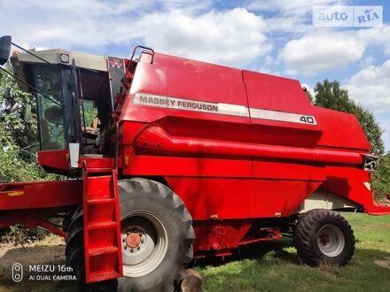 Красный Массей Фергюсон 40, объемом двигателя 7.4 л и пробегом 1 тыс. км за 19000 $, фото 1 на Automoto.ua