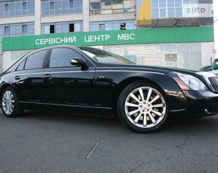 Черный Майбах 57, объемом двигателя 6 л и пробегом 170 тыс. км за 52500 $, фото 1 на Automoto.ua