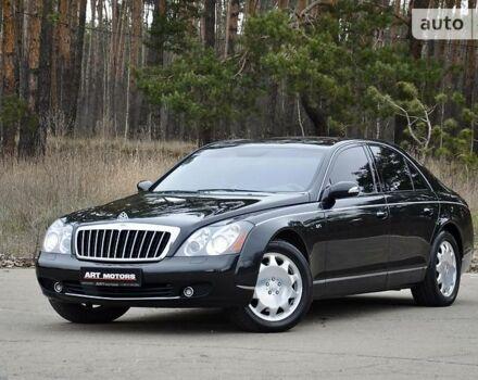 Черный Майбах 57, объемом двигателя 5.5 л и пробегом 55 тыс. км за 59999 $, фото 1 на Automoto.ua