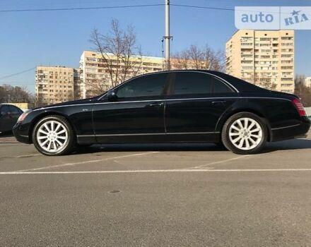 Черный Майбах 57, объемом двигателя 5.7 л и пробегом 47 тыс. км за 85000 $, фото 1 на Automoto.ua