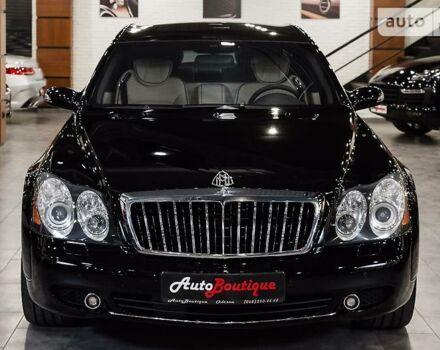 Чорний Майбах 62, об'ємом двигуна 6 л та пробігом 60 тис. км за 0 $, фото 1 на Automoto.ua