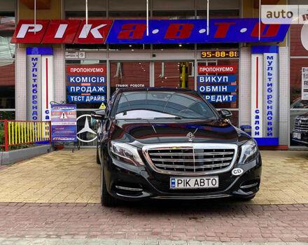 Черный Майбах S500, объемом двигателя 4.7 л и пробегом 128 тыс. км за 119000 $, фото 1 на Automoto.ua