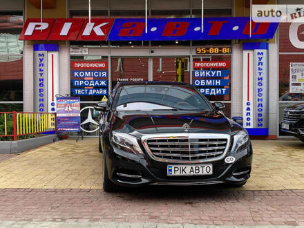 Чорний Майбах С500, об'ємом двигуна 4.7 л та пробігом 128 тис. км за 119900 $, фото 1 на Automoto.ua