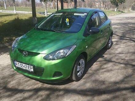 Зеленый Мазда 2, объемом двигателя 1.3 л и пробегом 101 тыс. км за 5650 $, фото 1 на Automoto.ua