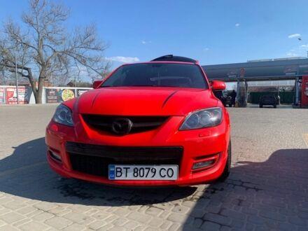 Красный Мазда 3 МПС, объемом двигателя 2.3 л и пробегом 50 тыс. км за 10000 $, фото 1 на Automoto.ua