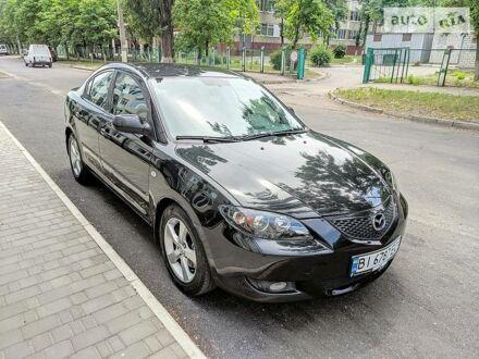Черный Мазда 3, объемом двигателя 1.6 л и пробегом 175 тыс. км за 5999 $, фото 1 на Automoto.ua