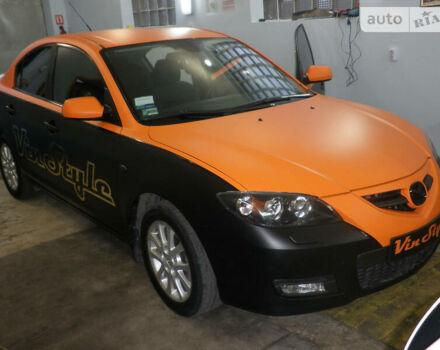 Черный Мазда 3, объемом двигателя 1.6 л и пробегом 150 тыс. км за 7500 $, фото 1 на Automoto.ua