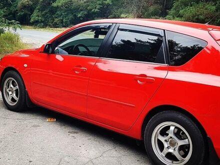 Красный Мазда 3, объемом двигателя 1.6 л и пробегом 137 тыс. км за 8200 $, фото 1 на Automoto.ua