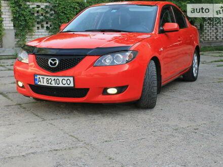 Красный Мазда 3, объемом двигателя 1.6 л и пробегом 151 тыс. км за 6550 $, фото 1 на Automoto.ua