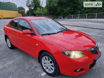 Красный Мазда 3, объемом двигателя 1.6 л и пробегом 127 тыс. км за 7300 $, фото 1 на Automoto.ua
