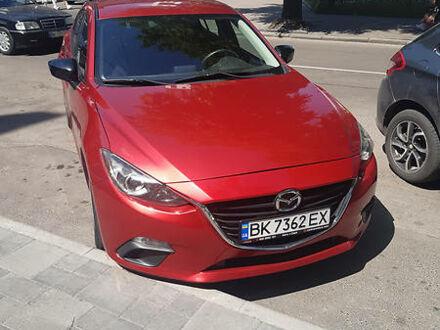 Красный Мазда 3, объемом двигателя 2 л и пробегом 129 тыс. км за 9700 $, фото 1 на Automoto.ua