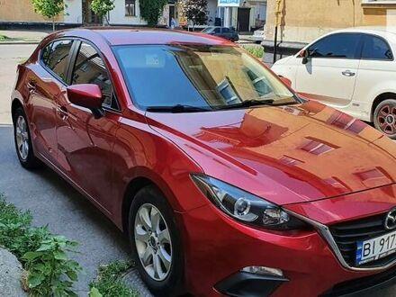 Красный Мазда 3, объемом двигателя 2 л и пробегом 185 тыс. км за 9500 $, фото 1 на Automoto.ua
