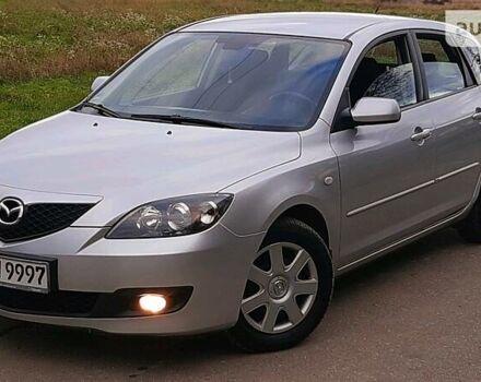 Серый Мазда 3, объемом двигателя 1.6 л и пробегом 140 тыс. км за 5650 $, фото 1 на Automoto.ua