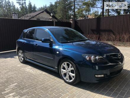 Синий Мазда 3, объемом двигателя 2 л и пробегом 218 тыс. км за 6800 $, фото 1 на Automoto.ua