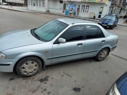 Серый Мазда 323, объемом двигателя 15 л и пробегом 40 тыс. км за 3100 $, фото 1 на Automoto.ua