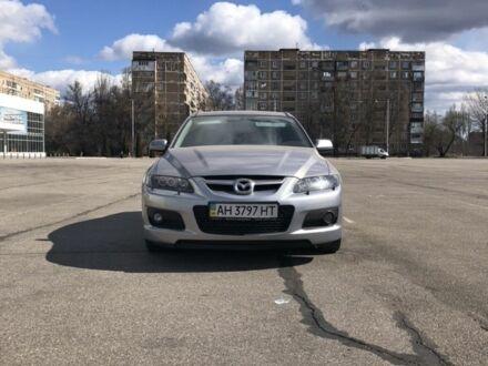 Серебряный Мазда 6 МПС, объемом двигателя 2.3 л и пробегом 106 тыс. км за 6600 $, фото 1 на Automoto.ua