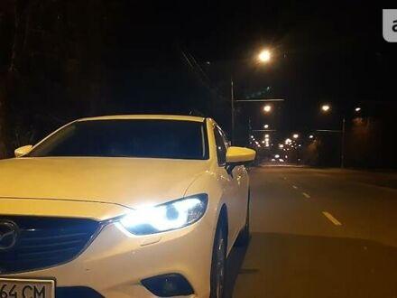 Белый Мазда 6, объемом двигателя 2.5 л и пробегом 83 тыс. км за 13900 $, фото 1 на Automoto.ua