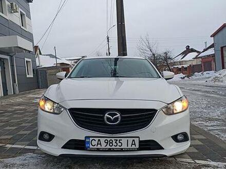 Белый Мазда 6, объемом двигателя 2.5 л и пробегом 160 тыс. км за 14000 $, фото 1 на Automoto.ua