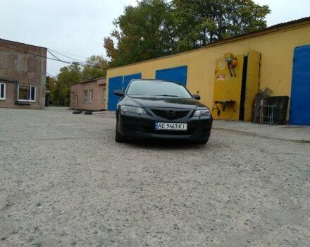 Черный Мазда 6, объемом двигателя 2 л и пробегом 200 тыс. км за 6650 $, фото 1 на Automoto.ua