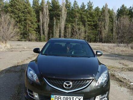 Черный Мазда 6, объемом двигателя 2 л и пробегом 72 тыс. км за 10200 $, фото 1 на Automoto.ua