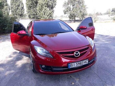 Красный Мазда 6, объемом двигателя 2.5 л и пробегом 170 тыс. км за 9450 $, фото 1 на Automoto.ua