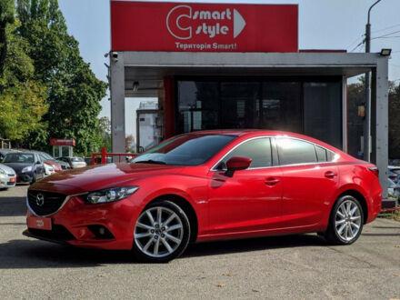 Красный Мазда 6, объемом двигателя 2.5 л и пробегом 125 тыс. км за 13900 $, фото 1 на Automoto.ua