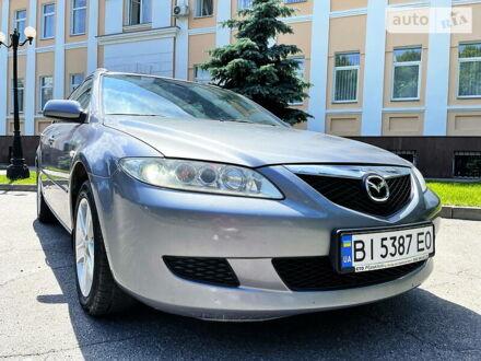 Серый Мазда 6, объемом двигателя 1.8 л и пробегом 172 тыс. км за 5950 $, фото 1 на Automoto.ua
