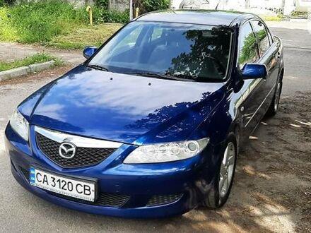Синий Мазда 6, объемом двигателя 1.8 л и пробегом 175 тыс. км за 4999 $, фото 1 на Automoto.ua