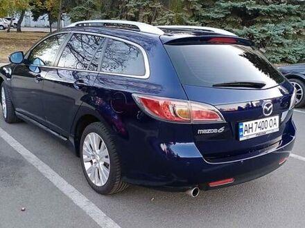 Синій Мазда 6, об'ємом двигуна 2 л та пробігом 165 тис. км за 9500 $, фото 1 на Automoto.ua