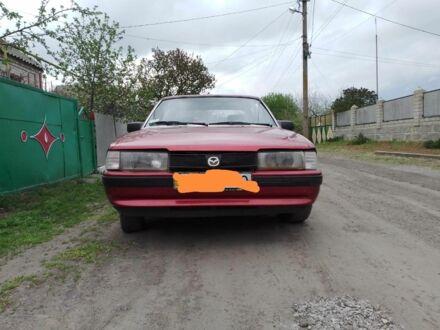 Красный Мазда 626, объемом двигателя 1.6 л и пробегом 1 тыс. км за 1100 $, фото 1 на Automoto.ua