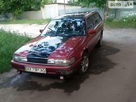 Красный Мазда 626, объемом двигателя 2 л и пробегом 40 тыс. км за 1800 $, фото 1 на Automoto.ua
