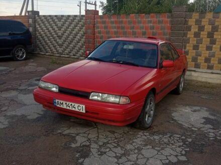 Красный Мазда 626, объемом двигателя 2.2 л и пробегом 100 тыс. км за 1450 $, фото 1 на Automoto.ua
