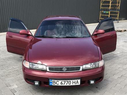 Красный Мазда 626, объемом двигателя 2 л и пробегом 400 тыс. км за 2300 $, фото 1 на Automoto.ua