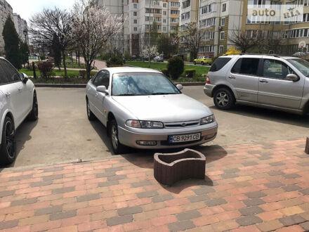 Серый Мазда 626, объемом двигателя 2 л и пробегом 280 тыс. км за 3500 $, фото 1 на Automoto.ua