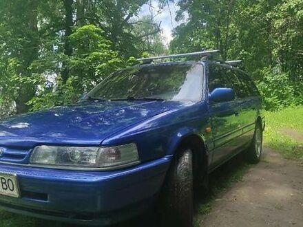 Синий Мазда 626, объемом двигателя 1.99 л и пробегом 439 тыс. км за 2400 $, фото 1 на Automoto.ua