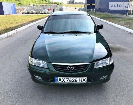 Зеленый Мазда 626, объемом двигателя 2 л и пробегом 303 тыс. км за 5000 $, фото 1 на Automoto.ua