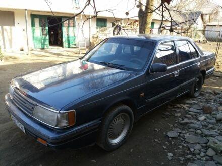 Синий Мазда 929, объемом двигателя 2.2 л и пробегом 4 тыс. км за 1000 $, фото 1 на Automoto.ua