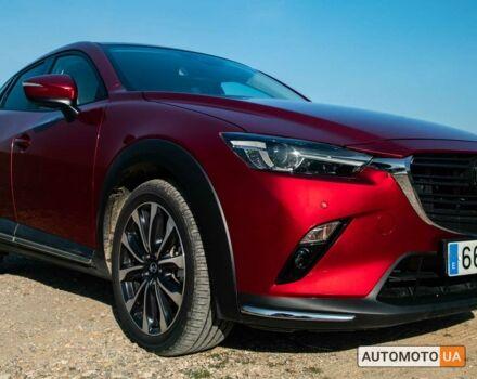 купить новое авто Мазда СХ-3 2021 года от официального дилера Форвард Транс Груп Мазда фото