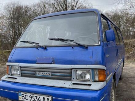 Синий Мазда E 2000,2200 Bus, объемом двигателя 2.2 л и пробегом 444 тыс. км за 2499 $, фото 1 на Automoto.ua