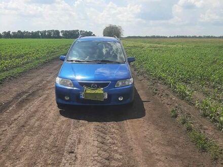 Синий Мазда Премаси, объемом двигателя 1.99 л и пробегом 250 тыс. км за 5500 $, фото 1 на Automoto.ua