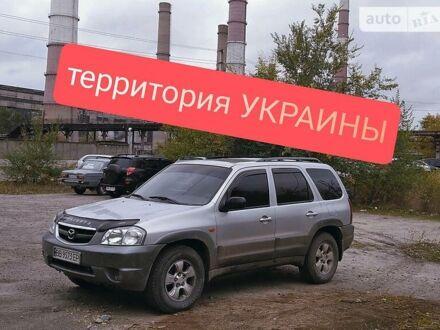 Серый Мазда Трибьют, объемом двигателя 3 л и пробегом 280 тыс. км за 6600 $, фото 1 на Automoto.ua